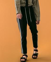 <monkey time> JERSEY TRACK PANTS/運動褲