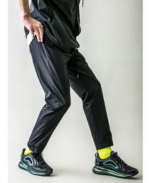 <monkey time> ST TWILL SLIM JOGGER/縮口褲