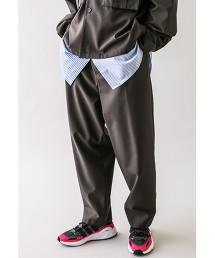 <monkey time> TW TWILL WIDE 1P PANTS/寬褲