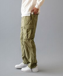 <monkey time> G/D PE/NY CARGO TRACK PANTS/工作褲