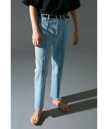 <monkey time> DENIM C/OFF TROUSER/牛仔褲 日本製