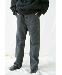<monkey time> DENIM FLARE PAINTER/丹寧 喇叭褲 日本製