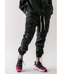 <monkey time> NYLON TFT DROPPED CARGO PANTS/工裝褲