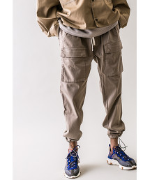 <monkey time> SATIN ST DROPPED CARGO PANTS/工裝褲
