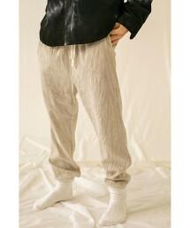 <monkey time> VELOUR LOUNGE PANTS/輕便褲