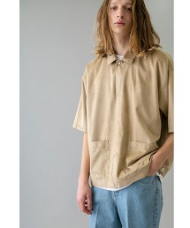 <monkey time> F/SD TRUCKER SHIRT SS/襯衫