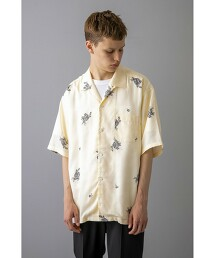 <monkey time> FLOWER PRINT OPEN SHIRT/襯衫