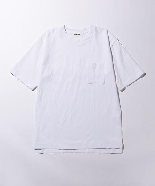 <monkey time> TC/PONTI 1POCKET 5SLEEVE CN/單貼袋T恤