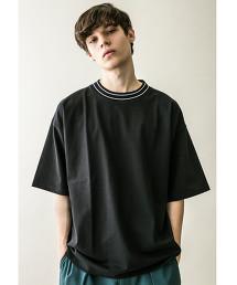 <monkey time> TENJIKU LINE MOCK TEE/微高領T恤