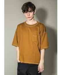 <monkey time> TENJIKU 1POC CN STCH/口袋T恤
