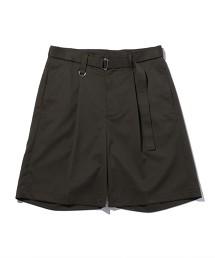 <monkey time> TR/TWL BELTED SHORTS/短褲