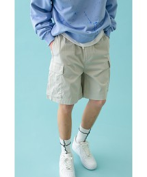 <monkey time> C/R STAIN ST CARGO SHORT PANTS/工裝褲