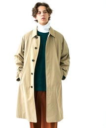 <monkey time> TC/NY WETHER SOUTIEN COLLAR COAT/巴爾瑪肯領大衣