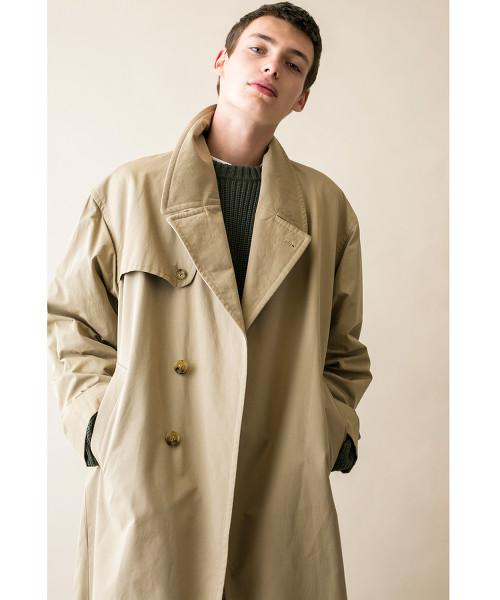 <monkey time> TC NYLON WTHR OVER COAT/寬版大衣