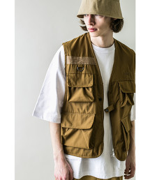 <monkey time> TC WTHR MULTI POCKET VEST/背心