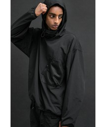 <monkey time> WASHER NYLON PULL OVER ANORAK/衝鋒衣