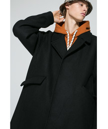 <monkey time> KRZ MELTON OVER COAT/寬版大衣 OUTLET商品
