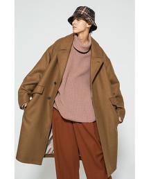 <monkey time> KRZ MELTON OVER COAT/寬版大衣 OUTLET商品