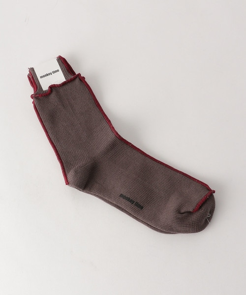 <monkey time> LOCK SAWING SOCKS/長襪