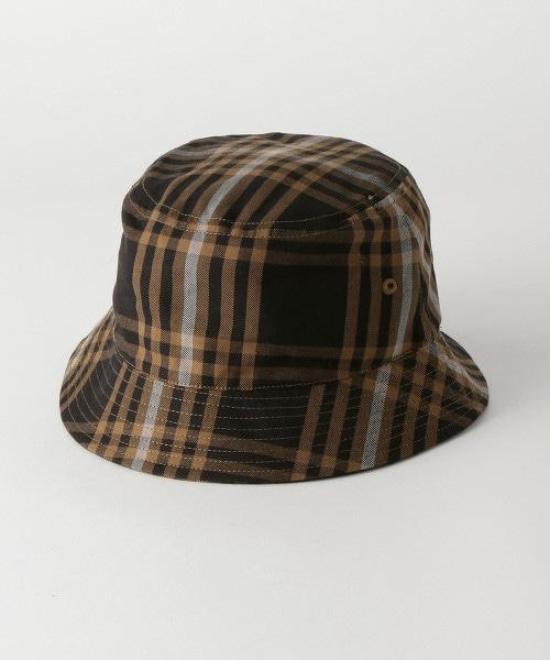 <monkey time> CHECK BUCKET HAT/漁夫帽