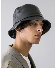 <moneky time> FAKE LTR BUCKET HAT/水桶帽