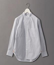 <6(ROKU)>STRIPE SHIRT/襯衫