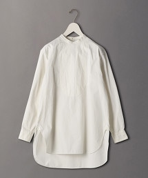 <6(ROKU)>BAND COLLAR SHIRT/襯衫