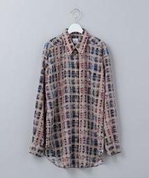 <6(ROKU)>CHECK PRINT SHIRT/襯衫