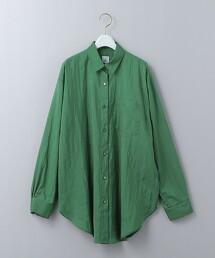 <6(ROKU)>NYLON SILK SHIRT/尼龍蠶絲襯衫 日本製