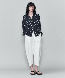 <6(ROKU)>DOT PRINT SHIRT/襯衫 日本製