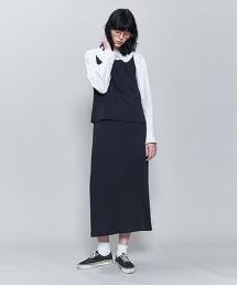 <6(ROKU)>COTTON FRILL COLLAR SHIRT/襯衫