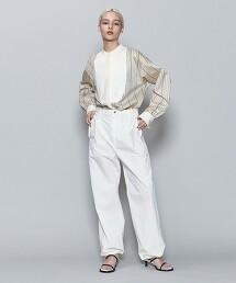 <6(ROKU)>STRIPE DRESS SHIRT/襯衫: 日本製