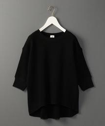 <6(ROKU)>THERMAL CREW NECK 6SLEEVE/發熱半袖圓領上衣