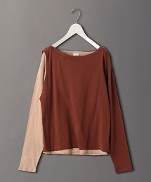 <6(ROKU)>KASANE LONG SLEEVE TOPS/T恤