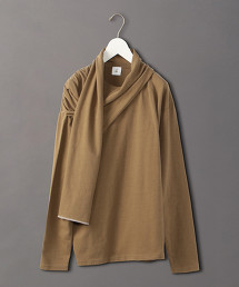 <6(ROKU)>SHAWL PULLOVER/套頭上衣 OUTLET商品