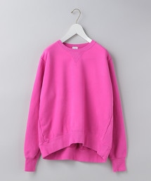 <6(ROKU)>COLOR SWEAT PULLOVER/衛衣