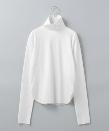<6(ROKU)>ZIP TURTLE NECK PULLOVER/上衣 日本製