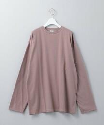 <6(ROKU)>FINGERLESS LONG SLEEVE T-SHIRT/T恤 日本製