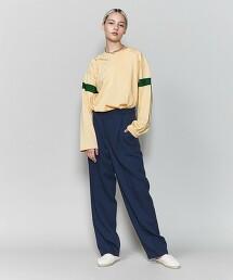 <6(ROKU)>FOOT BALL LONG SLEEVE T-SHIRT/T恤 日本製