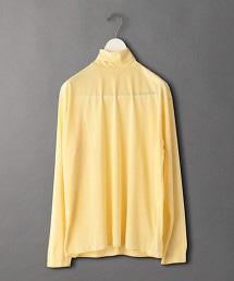 <6(ROKU)>SHEER TURTLE NECK PULLOVER/T恤
