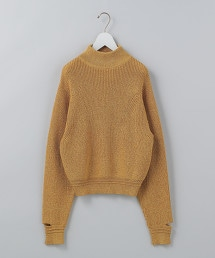 <6(ROKU)>HIGH NECK KNIT/針織毛衣 OUTLET商品