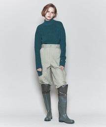 <6(ROKU)>HIGH NECK KNIT/針織毛衣