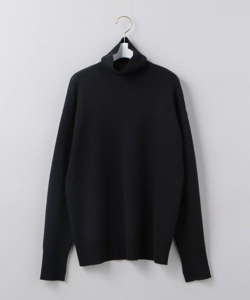 <6(ROKU)>TURTLE NECK KNIT/針織毛衣