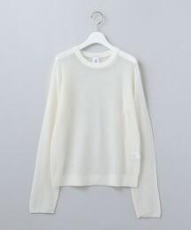 <6(ROKU)>SUKE STRIPE CREW NECK PULLOVER/針織衫