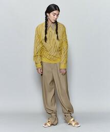 <6(ROKU)>OPEAL PULLOVER/針織上衣 日本製