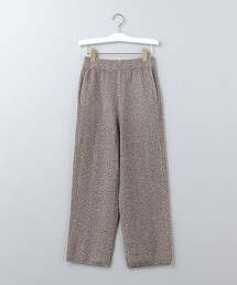 <6(ROKU)>MIX KNIT PANTS/褲子