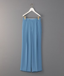 <6(ROKU)>GEORGETTE HIGH WAIST PANTS/長褲