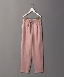 <6(ROKU)>HEAVY LINEN PANTS/長褲