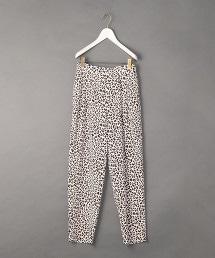 <6(ROKU)>LEOPARD PRINT PANTS/長褲