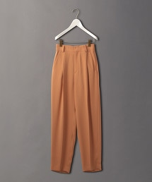 <6(ROKU)>GEORGETTE TUCK PANTS/長褲